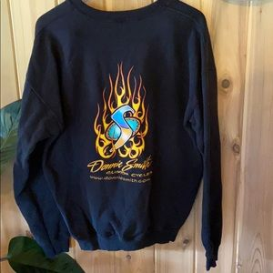 Vintage Donnie Smith custom cycles sweater